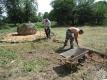 подготовительные работы на месте усадебного дома Магдалены Радзивилл