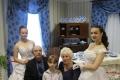 на бал - всей семьей: дедушка, бабушка и красавицы внучки